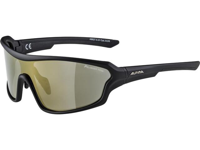 Alpina Lyron Shield P Okulary rowerowe, black matt